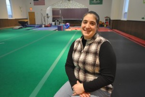 """Amy Garner is the owner of Gemini Gymnastics at 1288 Massachusetts Avenue in North Adams. Gillian Jones — The Berkshire Eagle"""